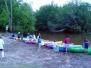 Sortie canoe sur la Leyre - 14/07/2004
