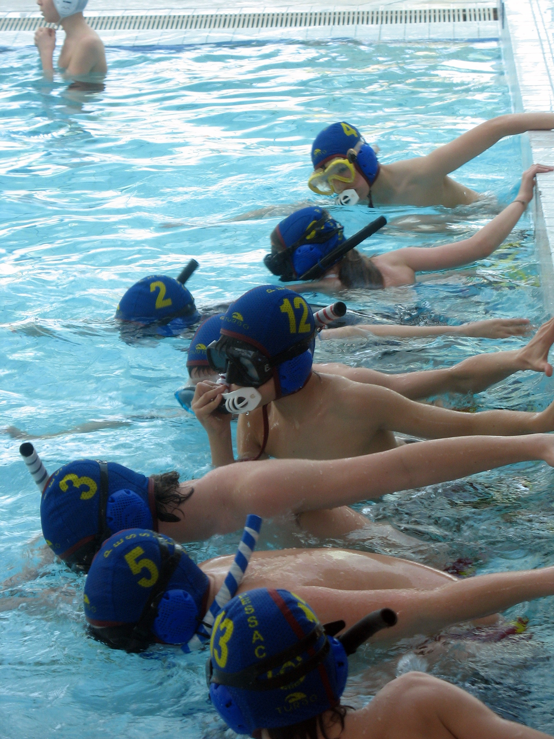 Championnat de france junior minime for Piscine universitaire talence